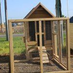 Small Chook House With Run