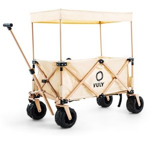 Vuly Rover Wagon Cart with Shade Cover (Beach Edition)